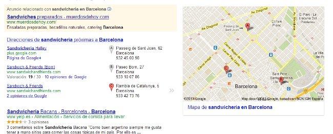 Google Local tienda local