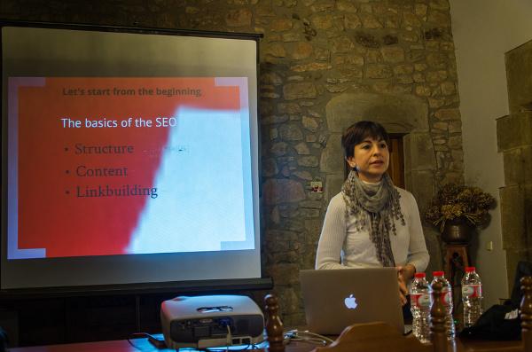 Marta Soler en la conferencia DNN Europe 2013