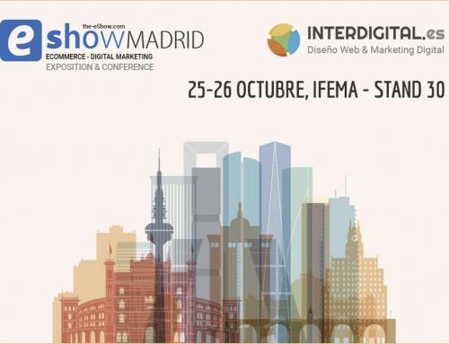 ¡Te esperamos en el eShow Madrid!
