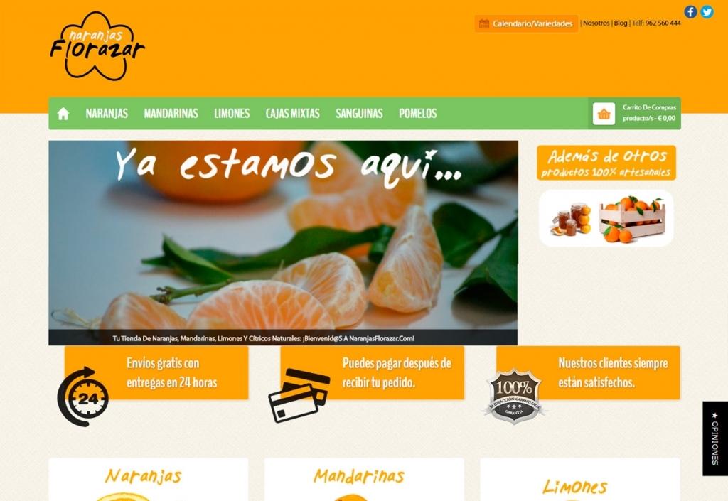 Naranjas Florazar