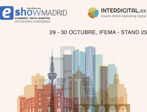 ¡No te pierdas el eShow Madrid 2019!